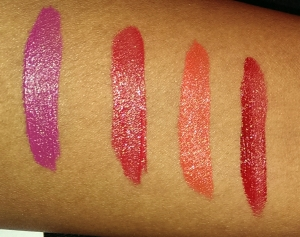nyx lip creams with flash