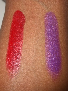 Rouge Artist Intense 15 and Future Red
