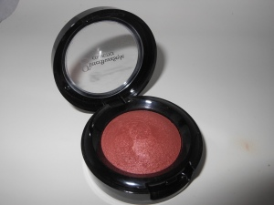 Glitter BuzzStyle Cosmetics Essence Rose Pose Baked Blush