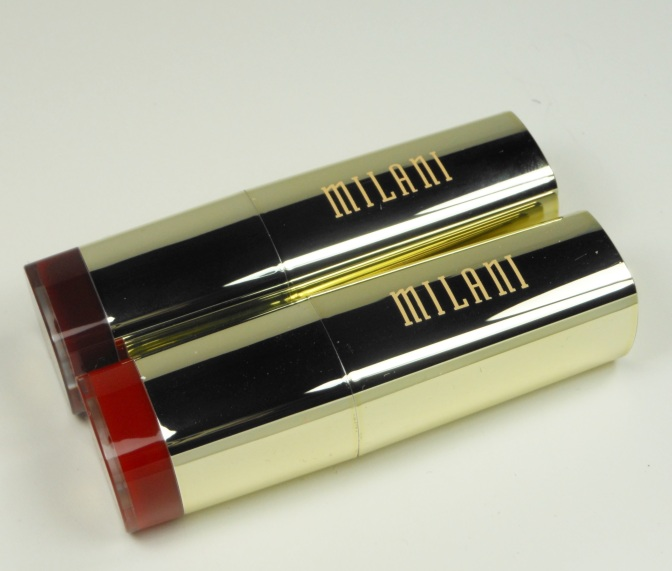 Milani Gives Great Lip – Best Red and Cabaret Blend