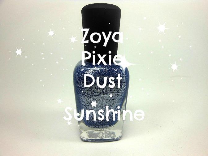 zoya pixie dust sunshine