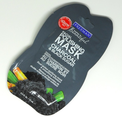 Charcoal and Black Mask Travel Size