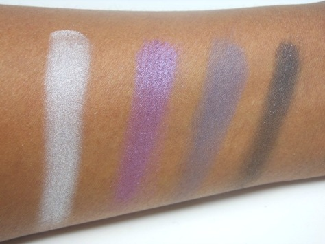 Amethyst Smokes Swatches