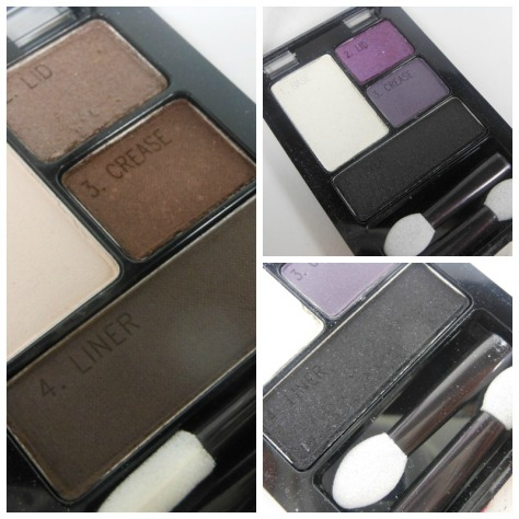 Maybelline Natural Smokes and Amethyst Smokes Collage