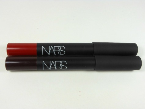 Nars Velvet Matte Lip Pencils Cruella and Train Bleu