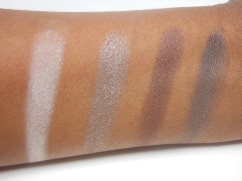 Maybelline Natural Smokes Swatches