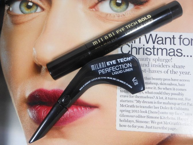 Tackling My Beauty Shortcomings With Milani Liquid Liners
