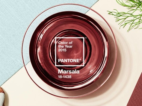 Marsala 2015 Pantone Color of the Year