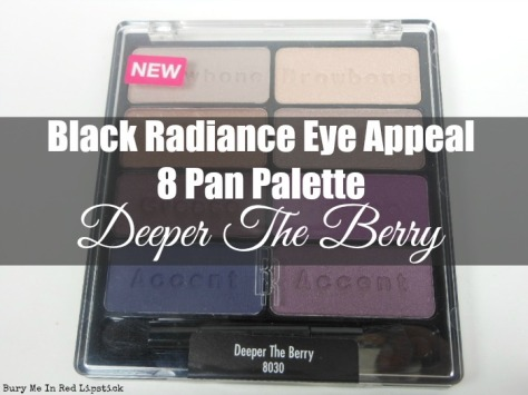 Black Radiance Eye Appeal 8 Pan Palette Deeper The Berry