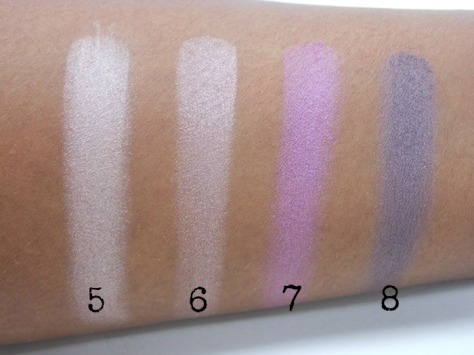 Deeper The Berry Swatches on Dark Skin Right Side