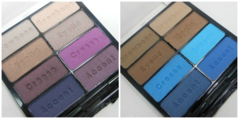 Deeper The Berry and Island Blues Palette From Black Radiance