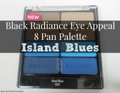 Black Radiance Island Blues 8 Pan Palette