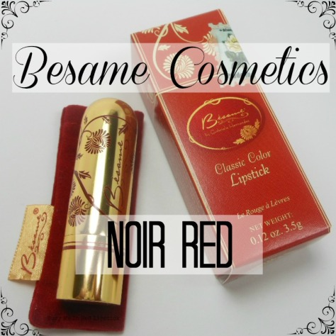 Noir Red from Besame Cosmetics