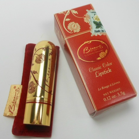 Noir Red Besame Lipstick