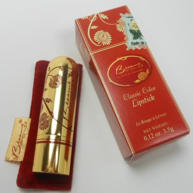 Vintage Glamour: @BesameCosmetics Noir Red Lipstick