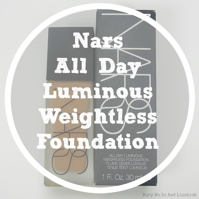 Thumbs Up: NARS All Day Luminous Weightless Foundation