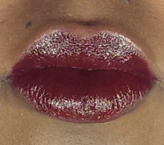 Noir Red Lip Swatch