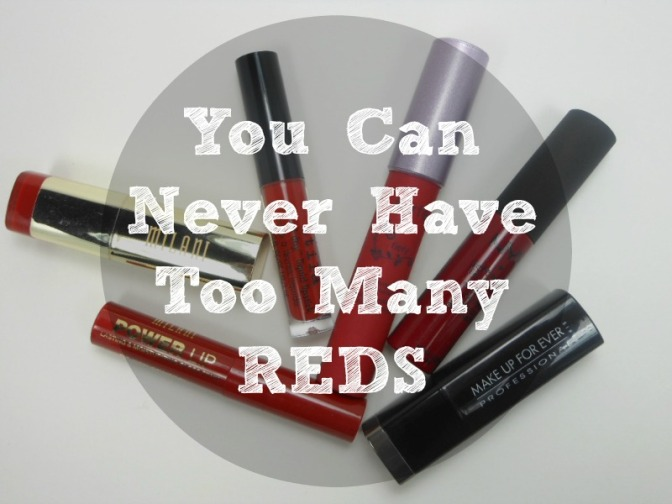 You Can Never Have Too Many REDS