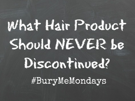 hair product discontinued