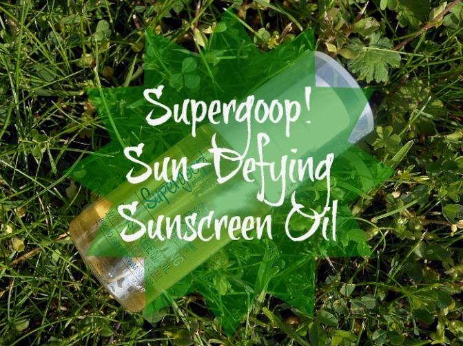 Don't Skip SPF: @Supergoop! Sun-Defying Sunscreen Oil