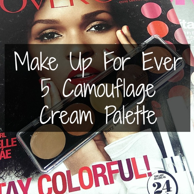 Some Contouring Love: MUFE 5 Camouflage Cream Palette