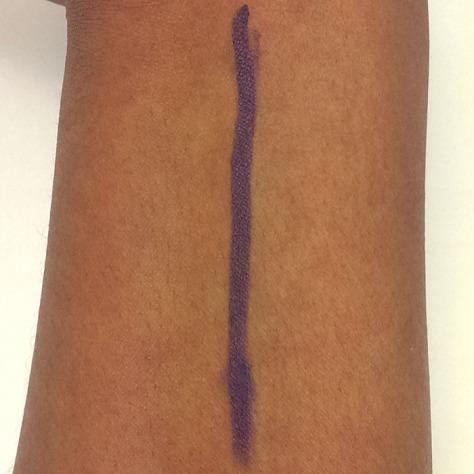 Maybelline cream eye pencil swatch vibrant violet