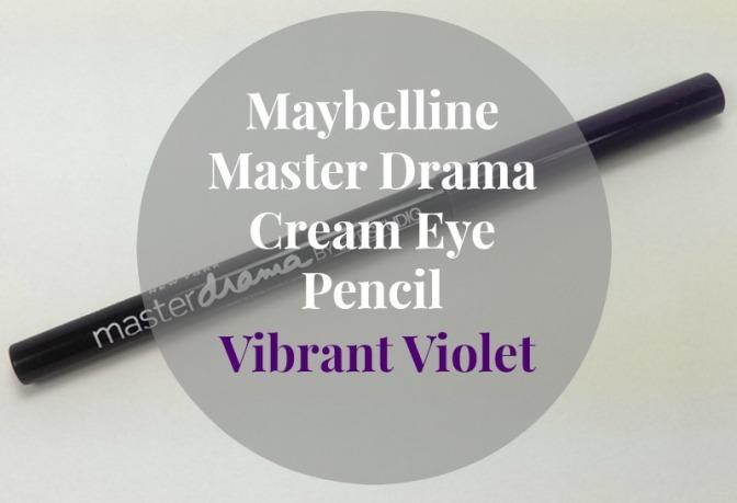 Maybelline Master Drama Cream Eye Pencil – Vibrant Violet